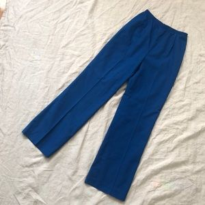 Vintage High Waist Wide Leg Trousers, Size 2/4